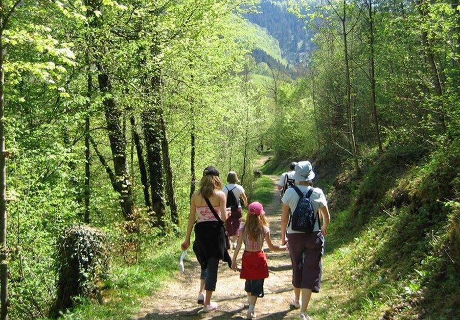 Détente en famille en Franche Comté